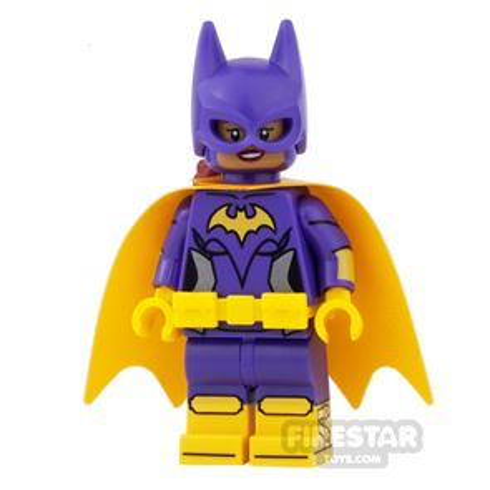 LEGO Super Heroes Mini Figure - Batgirl - Yellow Cape - Smile/Angry