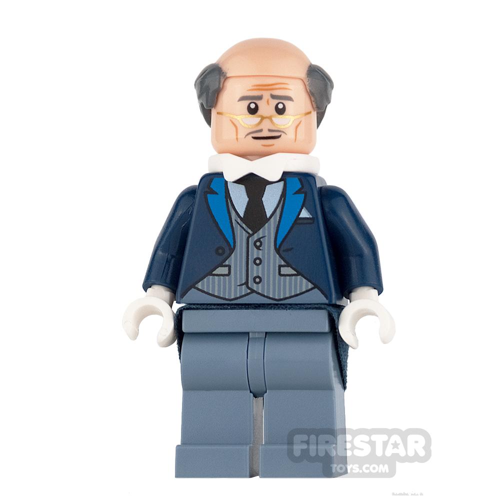 LEGO Super Heroes Mini Figure - Alfred Pennyworth - Pinstripe Vest