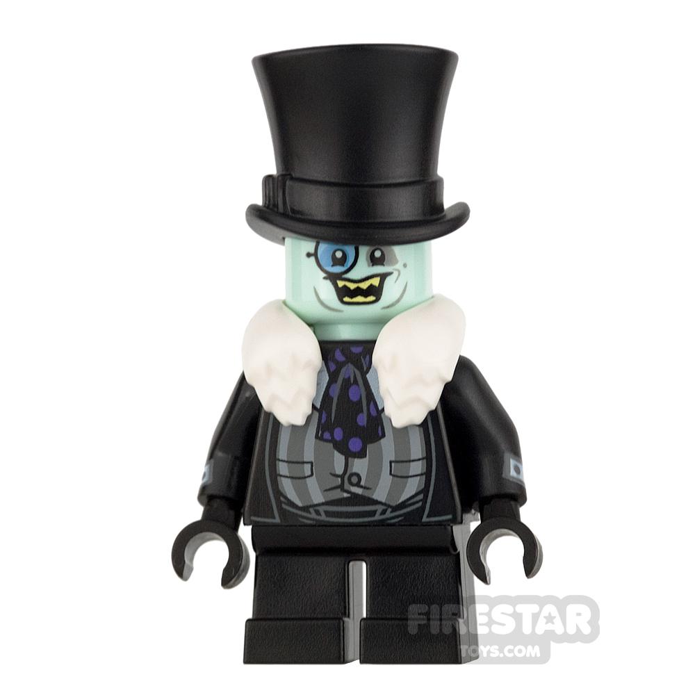 LEGO Super Heroes Mini Figure - The Penguin - White Fur Collar