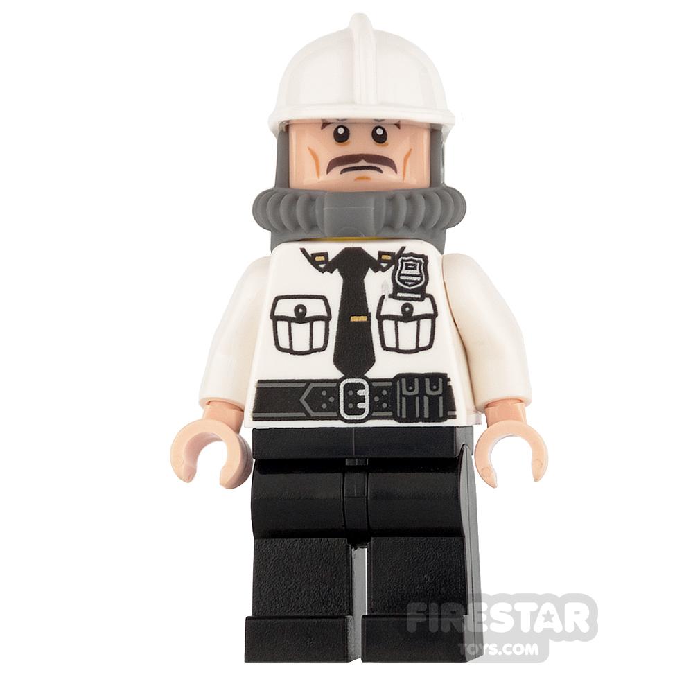 LEGO Super Heroes Mini Figure - Security Guard