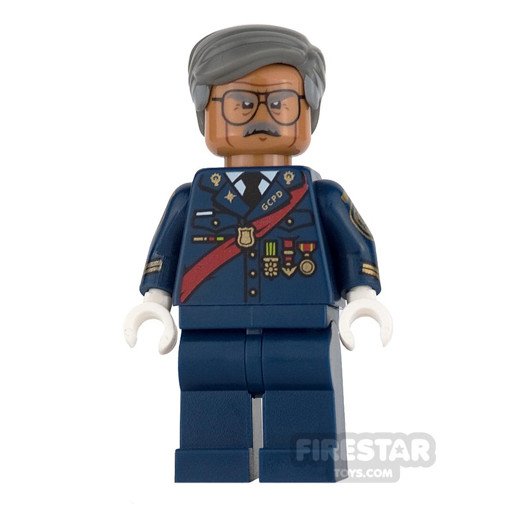 LEGO Super Heroes Mini Figure - Commissioner Gordon - Red Sash