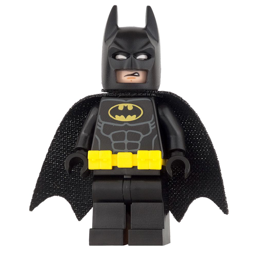 LEGO Super Heroes Mini Figure - Batman - Utility Belt, Head Type 3
