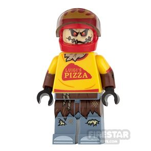 LEGO Super Heroes Mini Figure - Scarecrow - Pizza Delivery Outfit