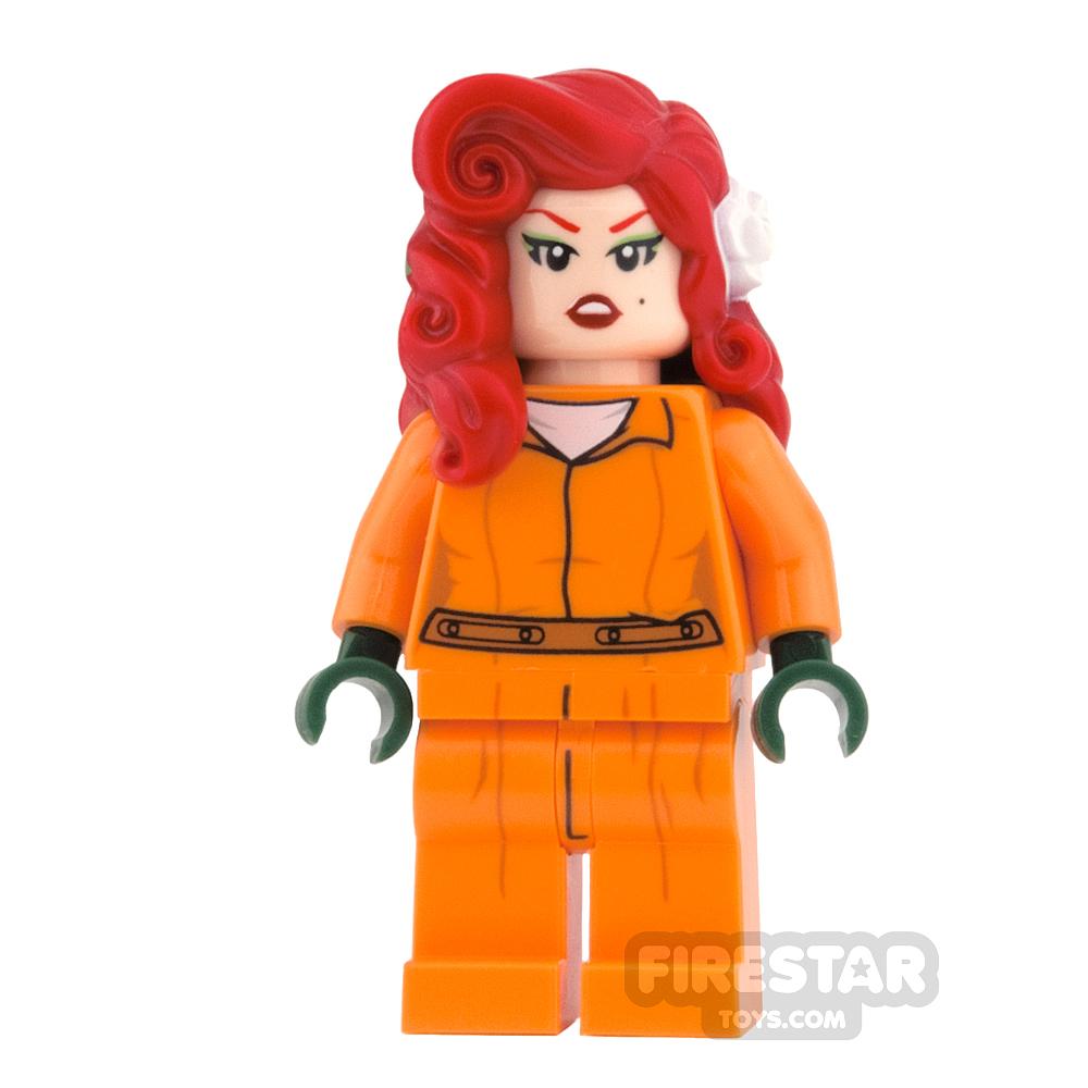 LEGO Super Heroes Mini Figure - Poison Ivy - Prison Jumpsuit