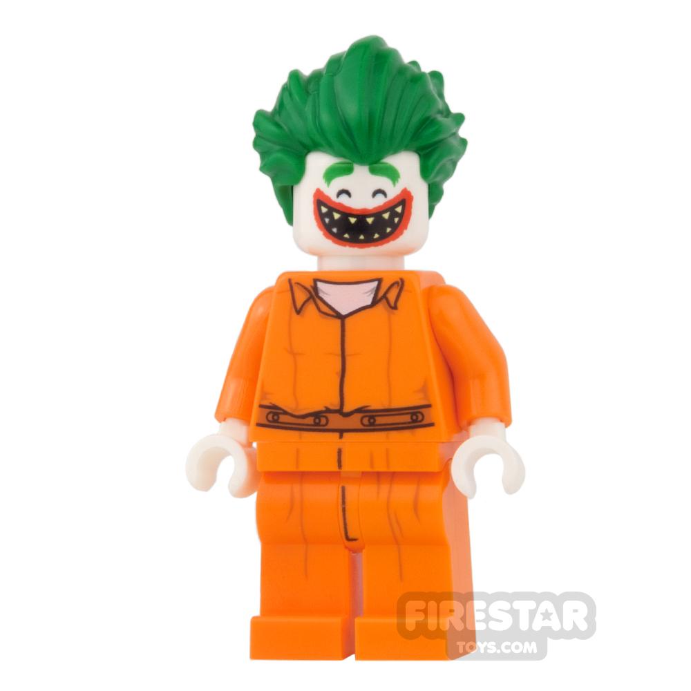 LEGO Super Heroes Mini Figure - The Joker - Prison Jumpsuit, Pointed Teeth