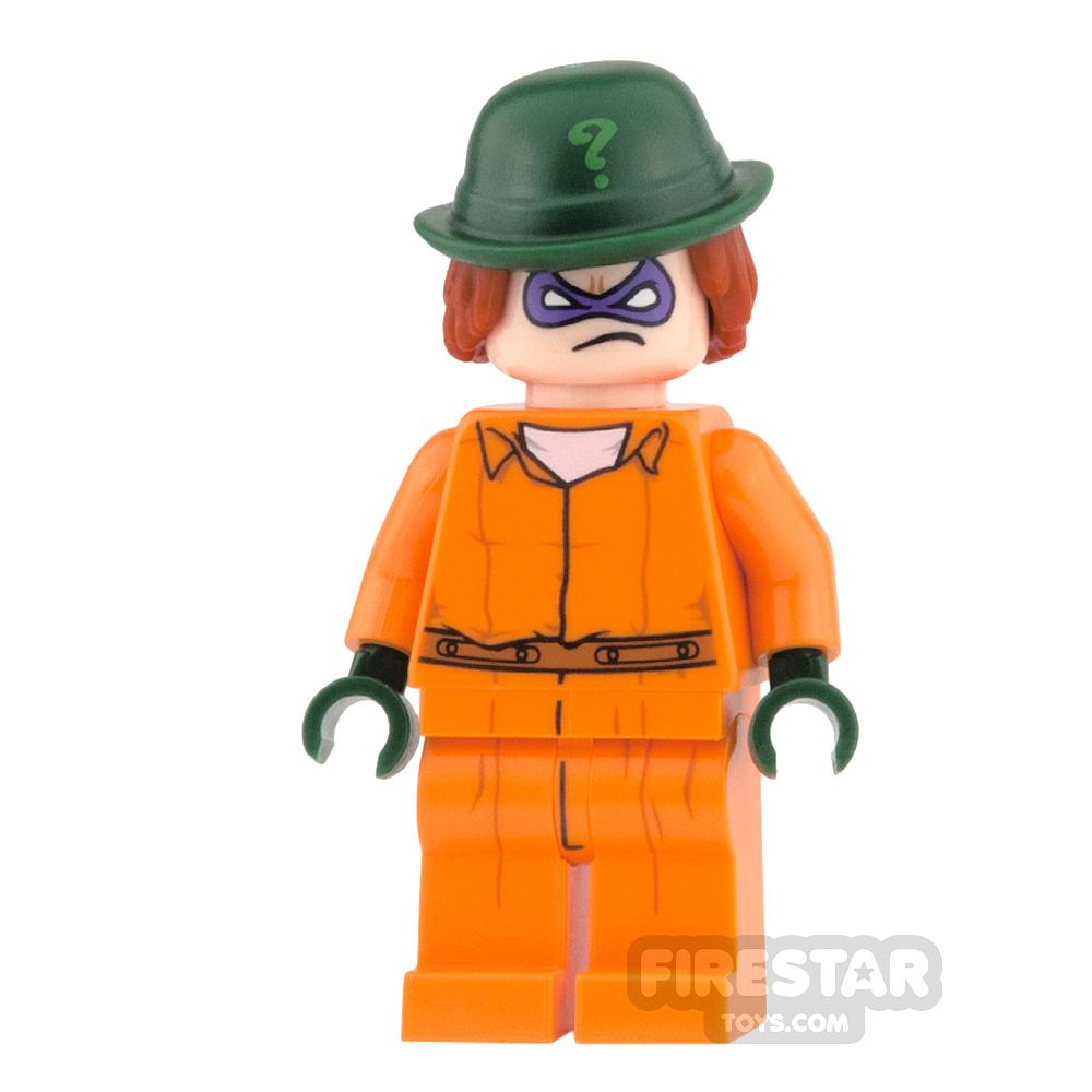 LEGO Super Heroes Mini Figure - The Riddler - Prison Jumpsuit