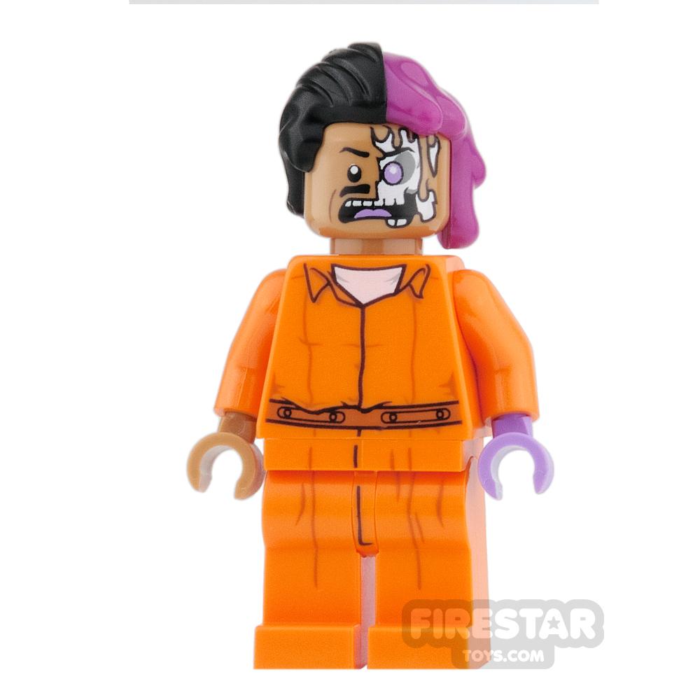 LEGO Super Heroes Mini Figure - Two-Face - Prison Jumpsuit
