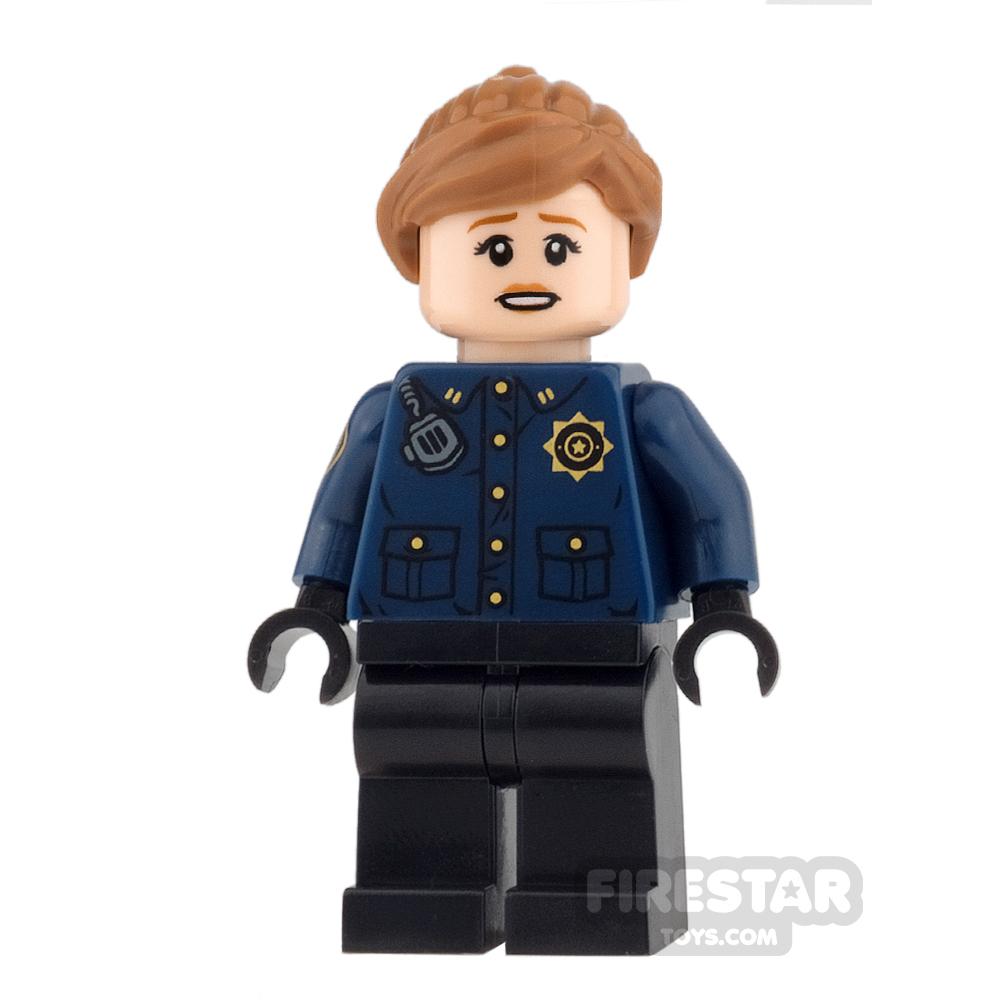 LEGO Super Heroes Mini Figure - GCPD Officer - Female