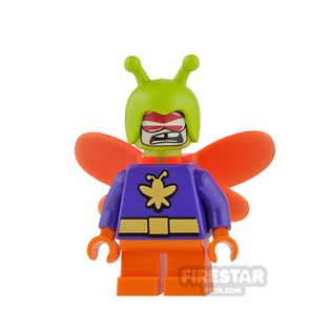 LEGO Super Heroes Mini Figure - Killer Moth - Short Legs