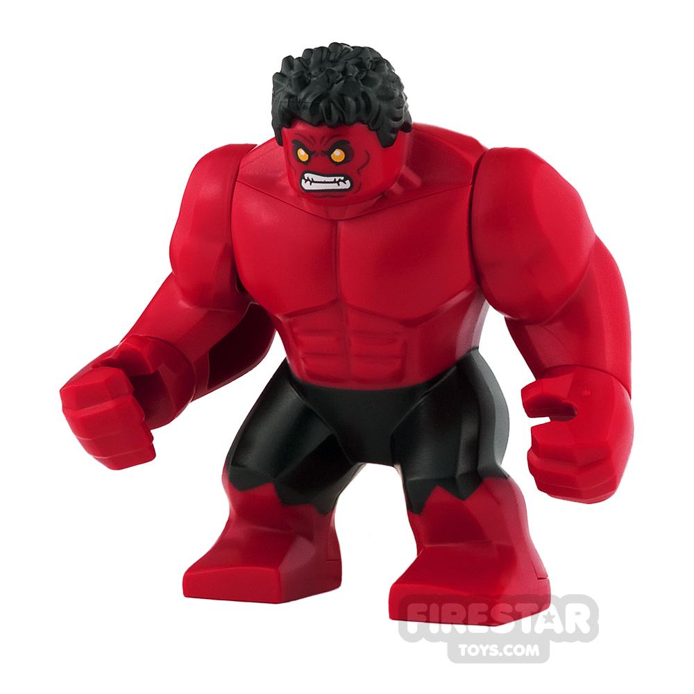 LEGO Super Heroes Mini Figure - Red Hulk