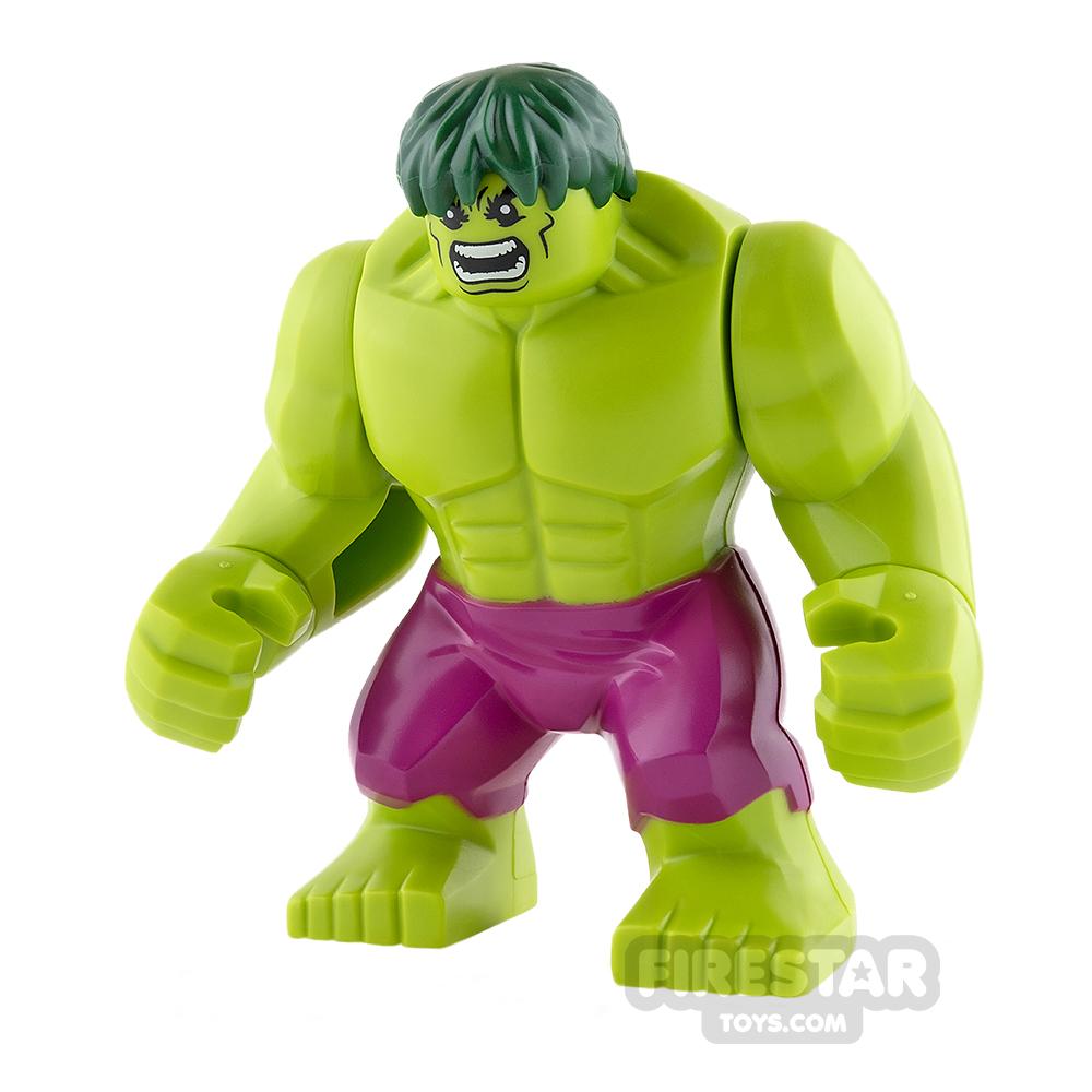 LEGO Super Heroes Mini Figure - Hulk - Lime