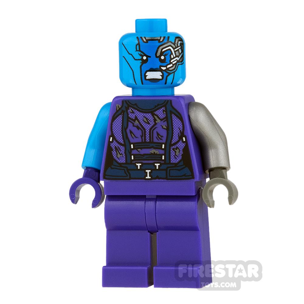 LEGO Super Heroes Mini Figure - Nebula - Torn Outfit, Angry