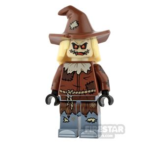 LEGO Super Heroes Mini Figure - Scarecrow - Hat with Yellow Hair