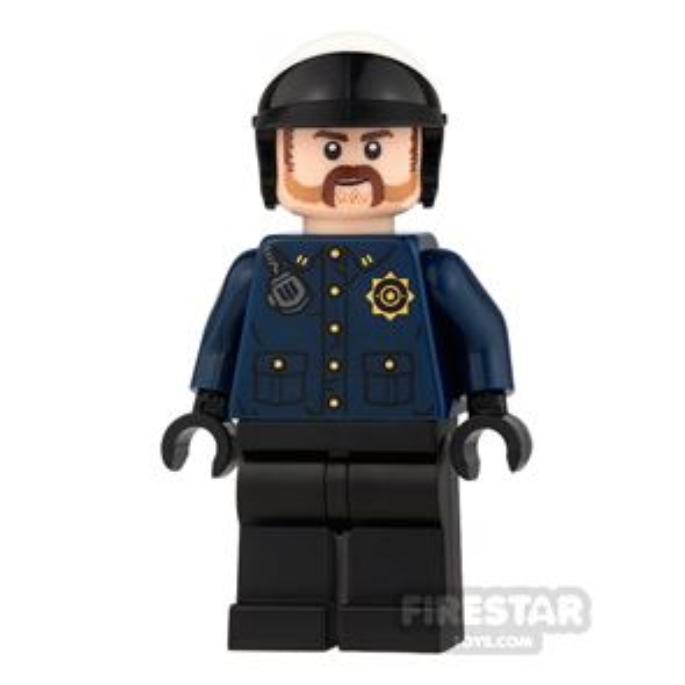 LEGO Super Heroes Mini Figure -  Batman - GCPD Officer 2