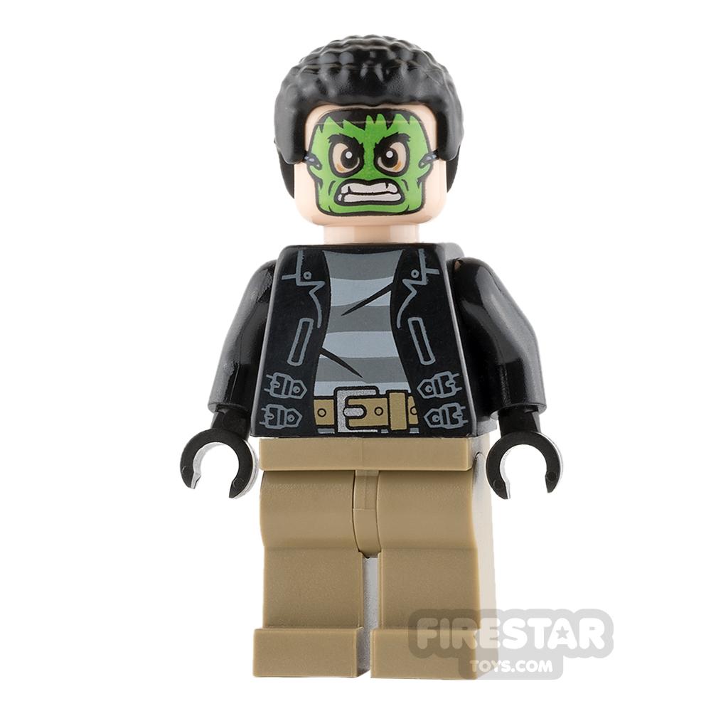 LEGO Super Heroes Mini Figure - Masked Robber - Green Mask