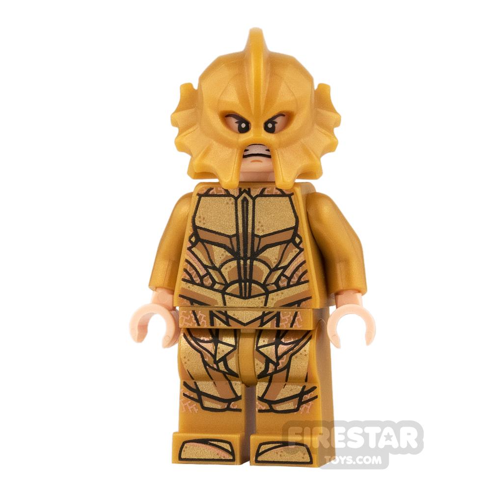 LEGO Super Heroes Mini Figure - Atlantean Guard - Angry