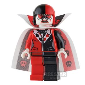 LEGO Super Heroes Mini Figure - Harley Quinn - Cannon Ball Suit