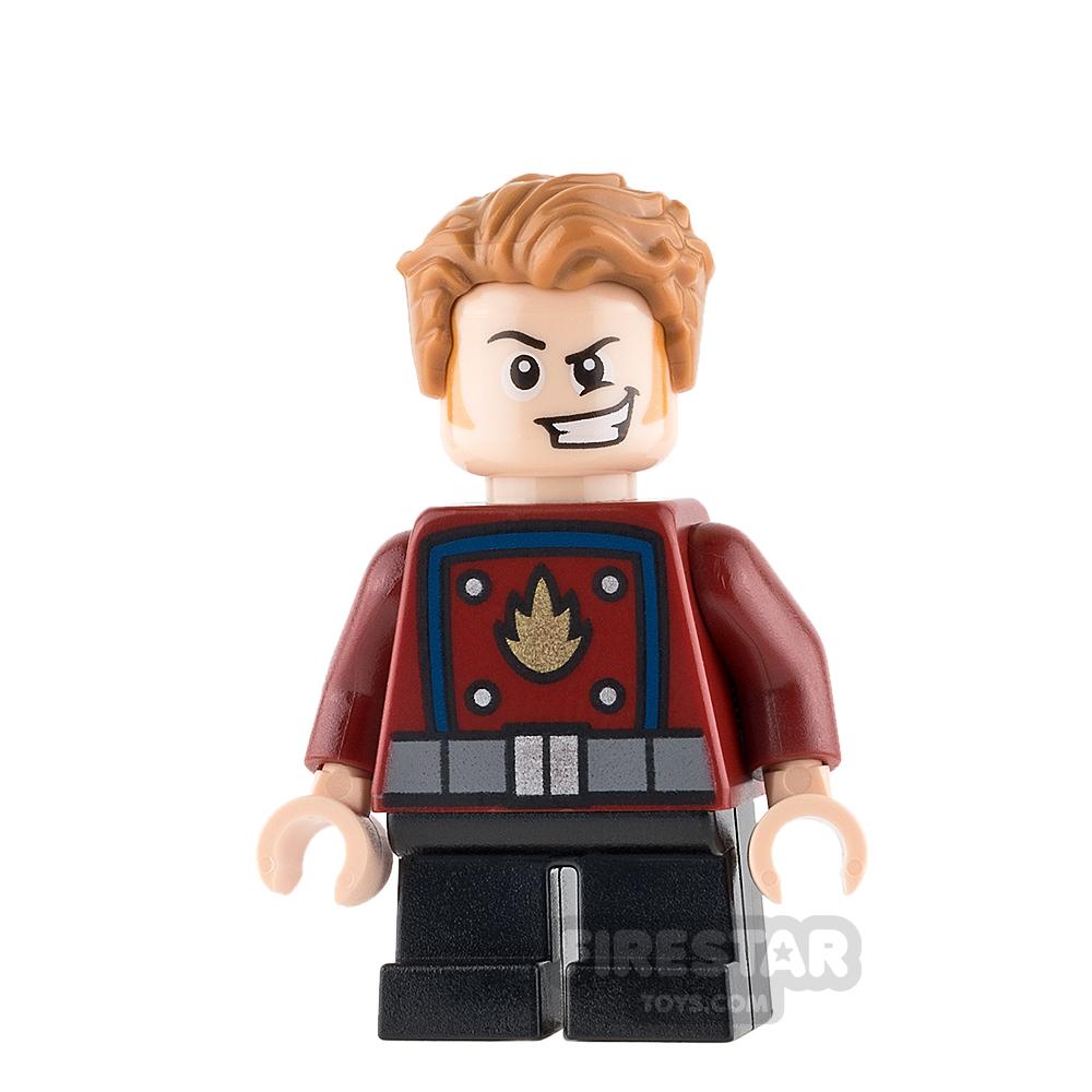 LEGO Super Heroes Mini Figure - Star-Lord - Short Legs