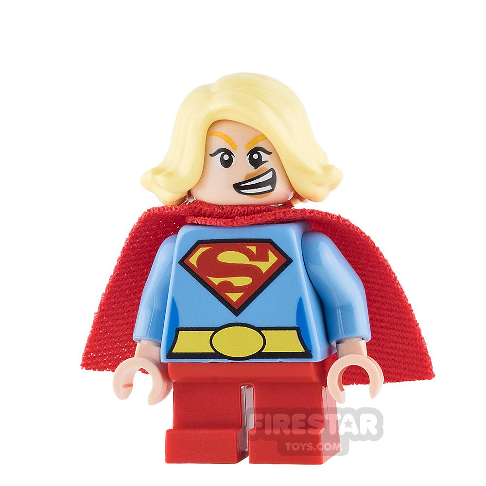 LEGO Super Heroes Mini Figure - Supergirl - Short Legs