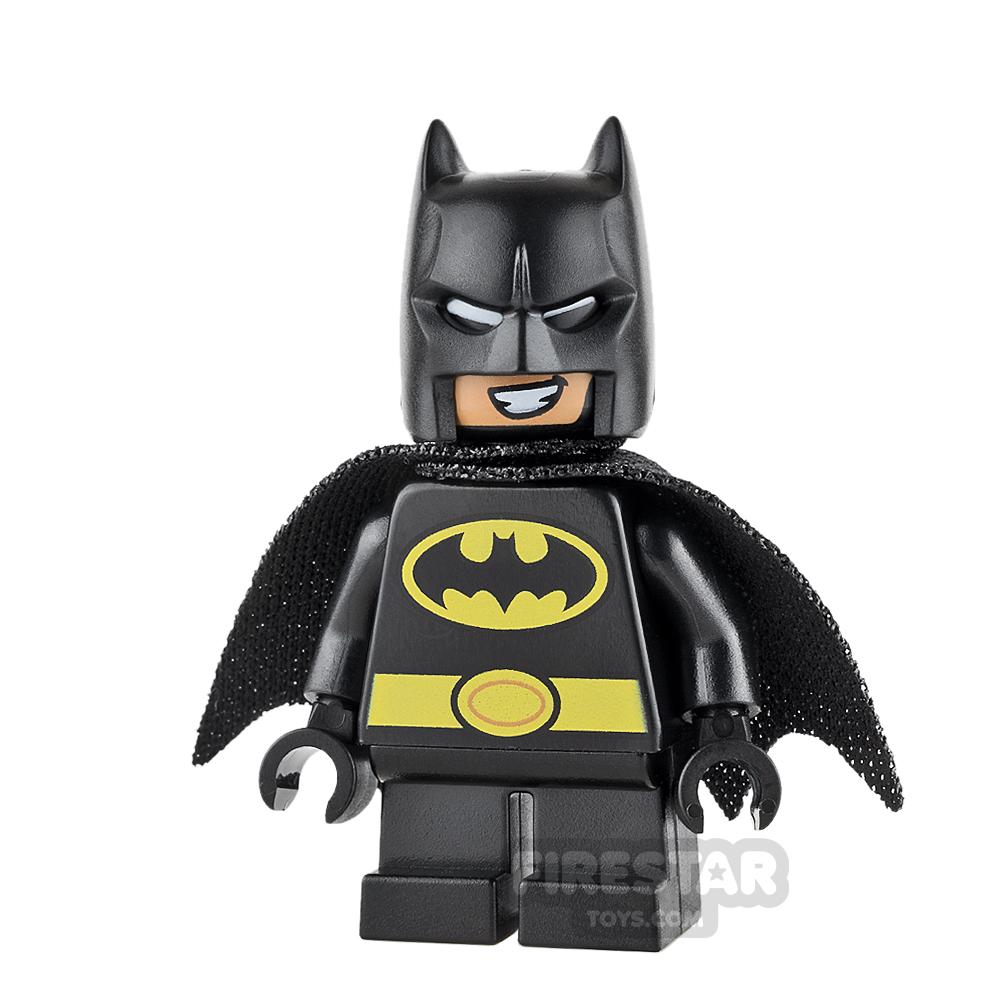 LEGO Super Heroes Mini Figure - Batman - Short Legs, Black Cape
