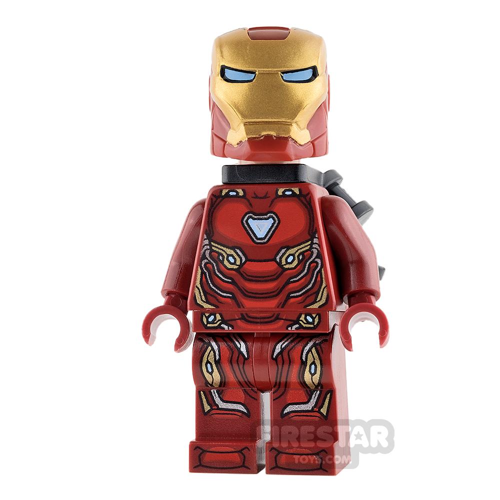 LEGO Super Heroes Mini Figure - Iron Man - Infinity War - Neck Bracket