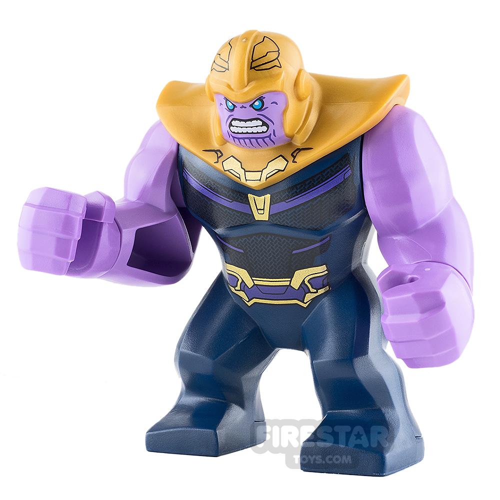 LEGO Super Heroes Minifigure Thanos Dark Blue Armour