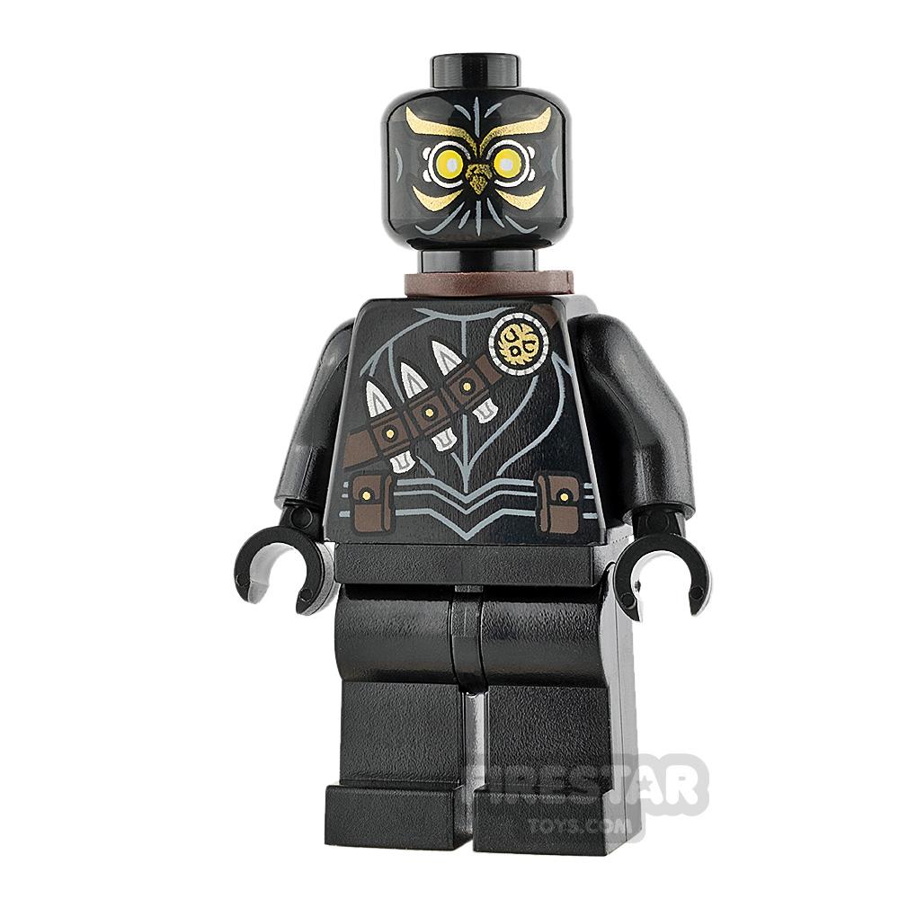 LEGO Super Heroes Mini Figure - Talon - Double Scabbard