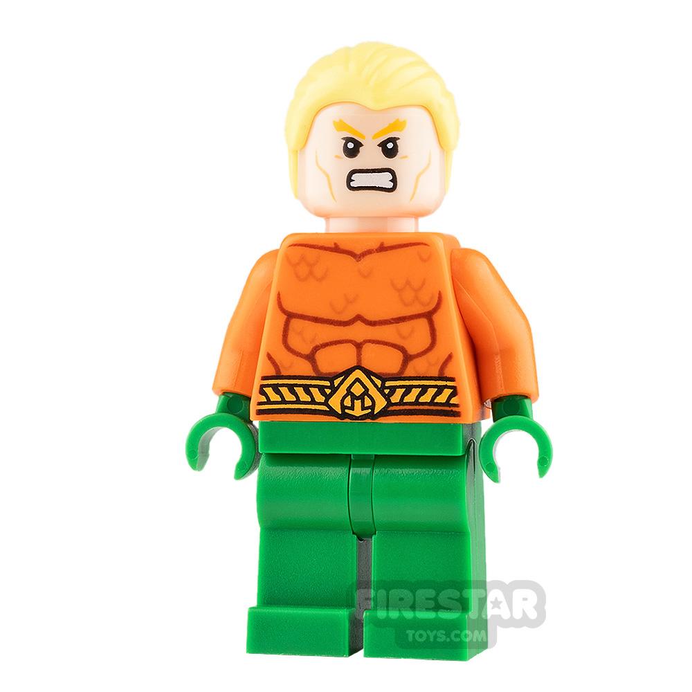 LEGO Super Heroes Minifigure Aquaman Combed Hair