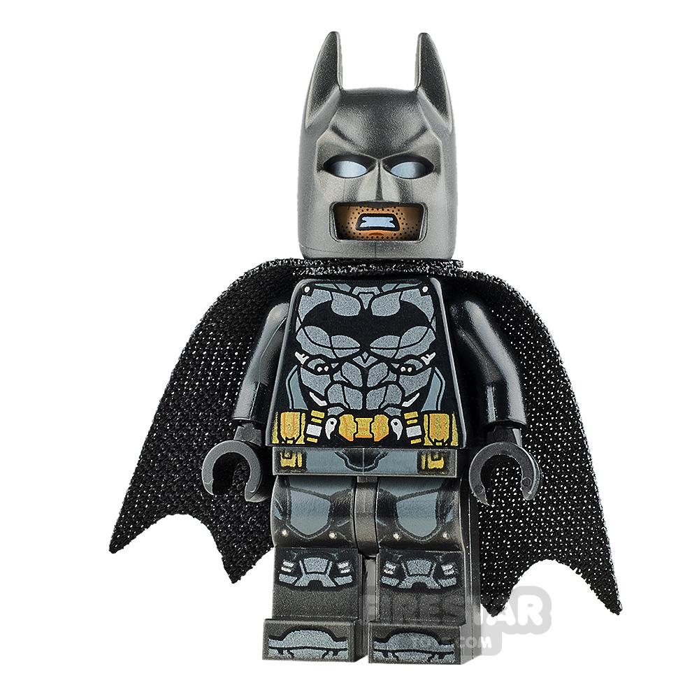 LEGO Super Heroes Mini Figure - Batman - Pearl Dark Gray Armour