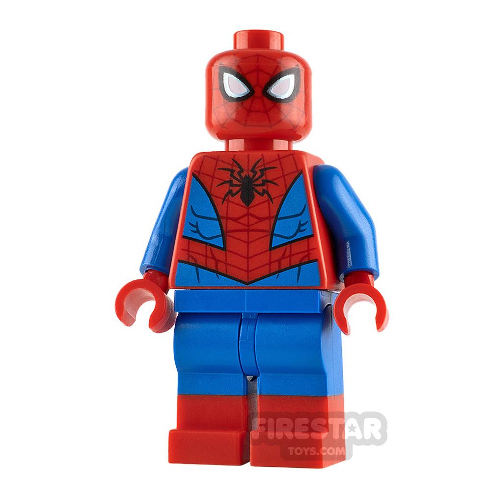 LEGO Super Heroes Minifigure Spider-Man Eye Highlights