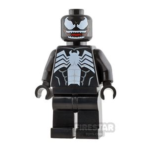 LEGO Super Heroes Minifigure Venom Red Mouth
