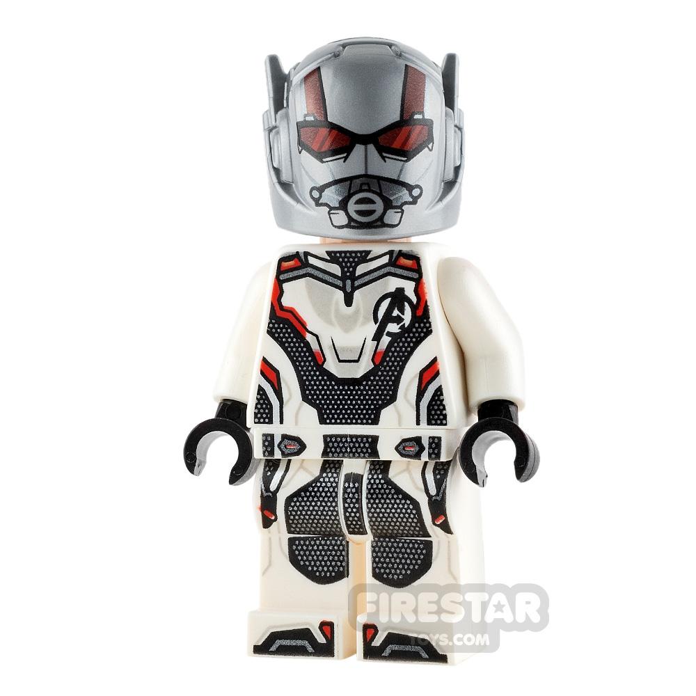 LEGO Super Heroes Minifigure Ant-Man White Jumpsuit