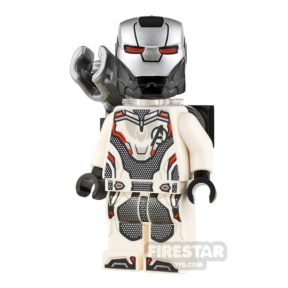 LEGO Super Heroes Minifigure War Machine White Jumpsuit