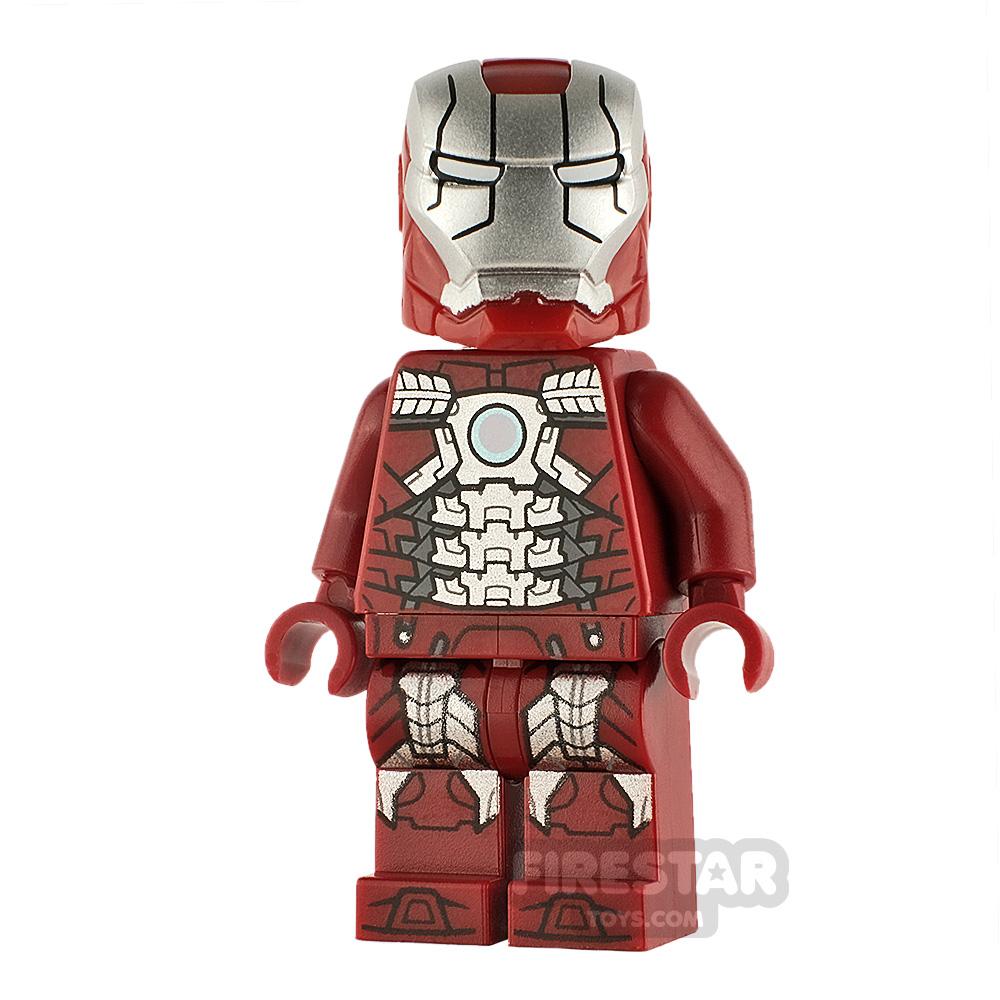 LEGO Super Heroes Minifigure Iron Man Mark 5 Armour
