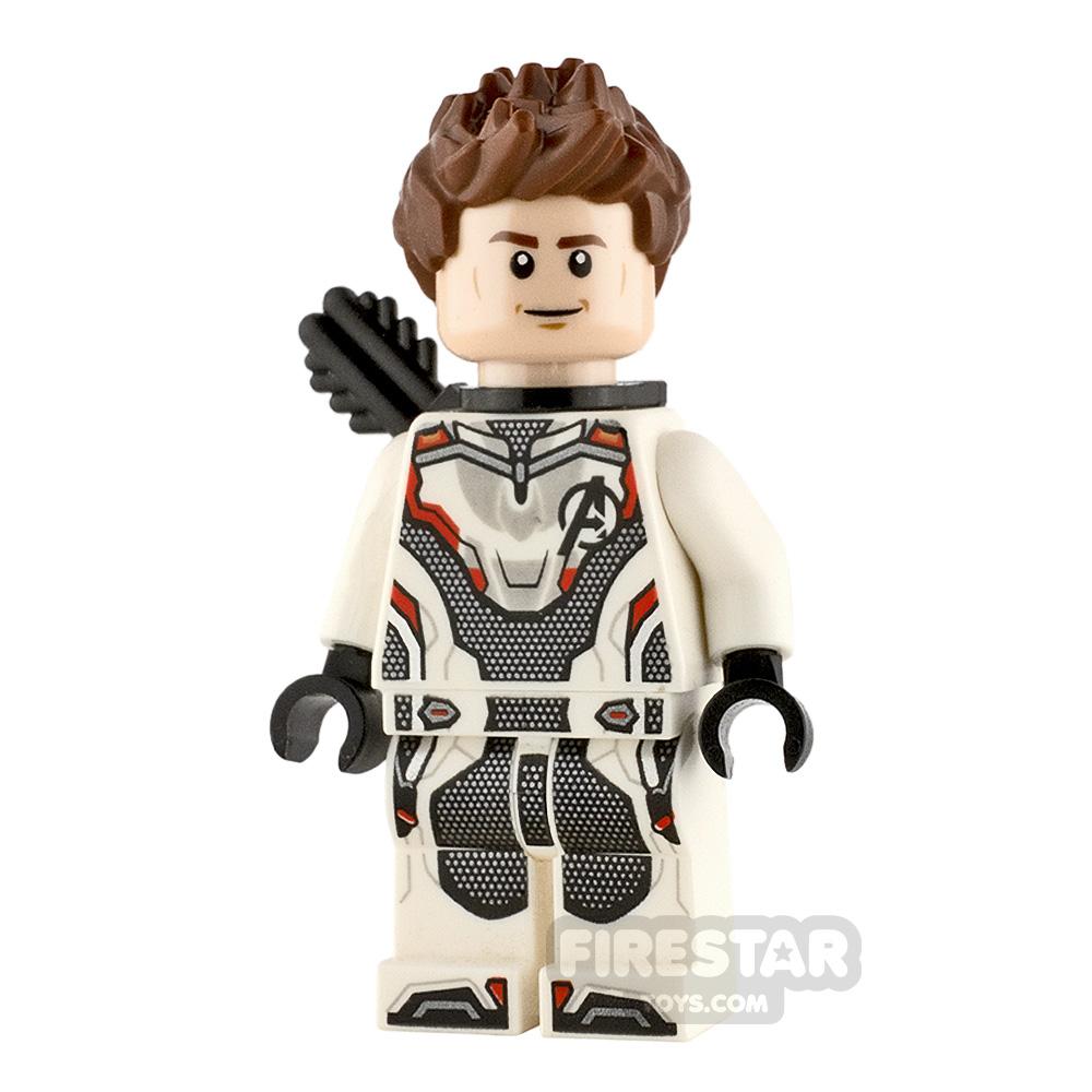 LEGO Super Heroes Minifigure Hawkeye White Jumpsuit