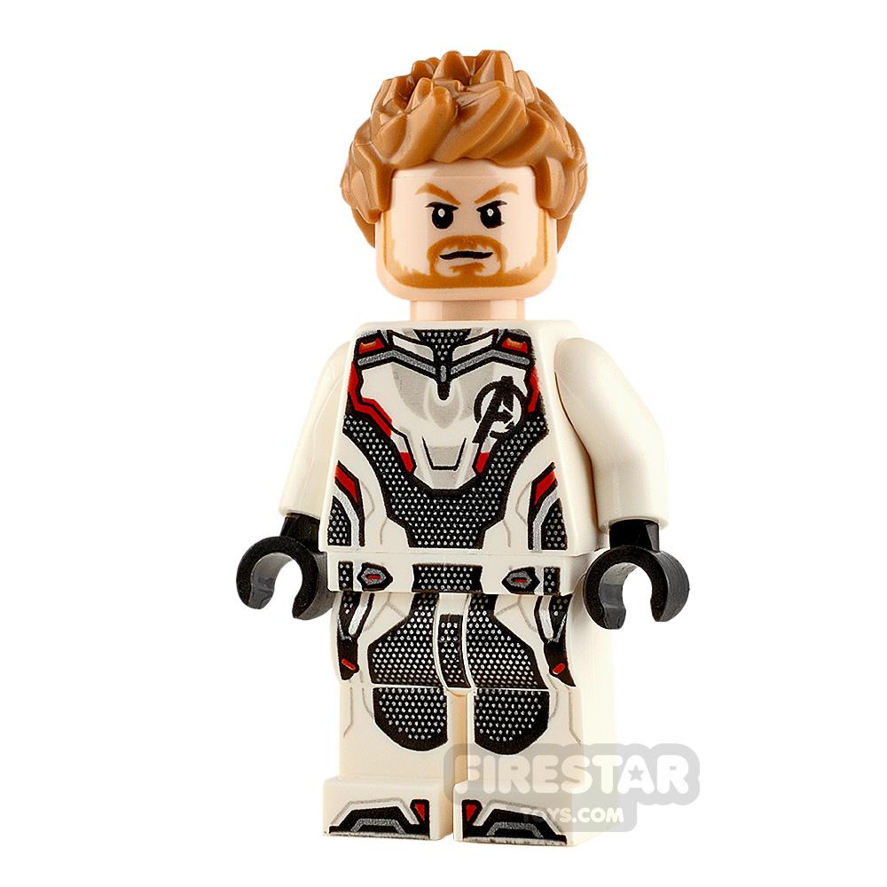 LEGO Super Heroes Minifigure Thor White Jumpsuit