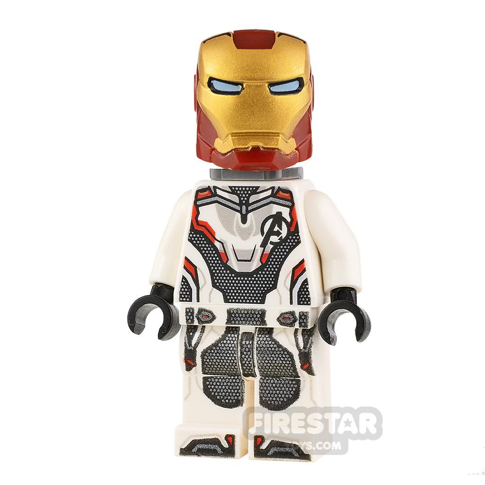 LEGO Super Heroes Minifigure Iron Man White Jumpsuit