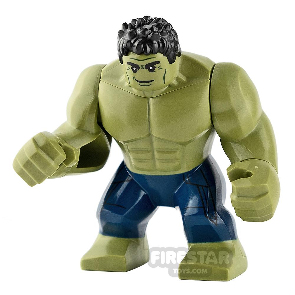 LEGO Super Heroes Minifigure Hulk Dark Blue Trousers