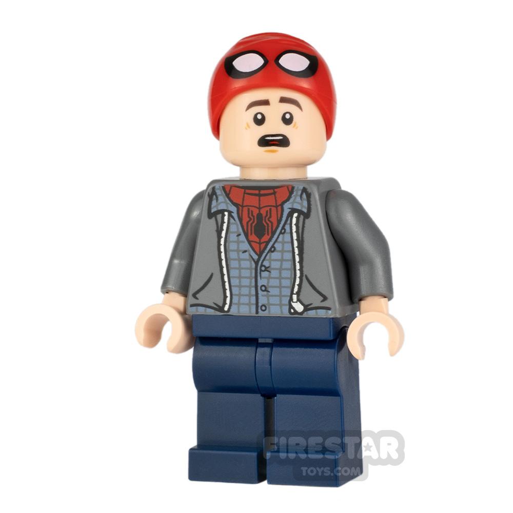 LEGO Super Heroes Minifigure Peter Parker Spider-Man Cap