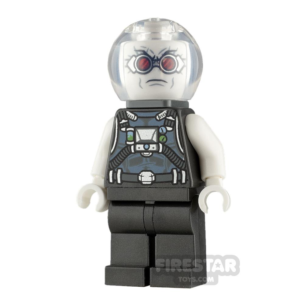 LEGO Super Heroes Minifigure Mr. Freeze Pearl Dark Gray