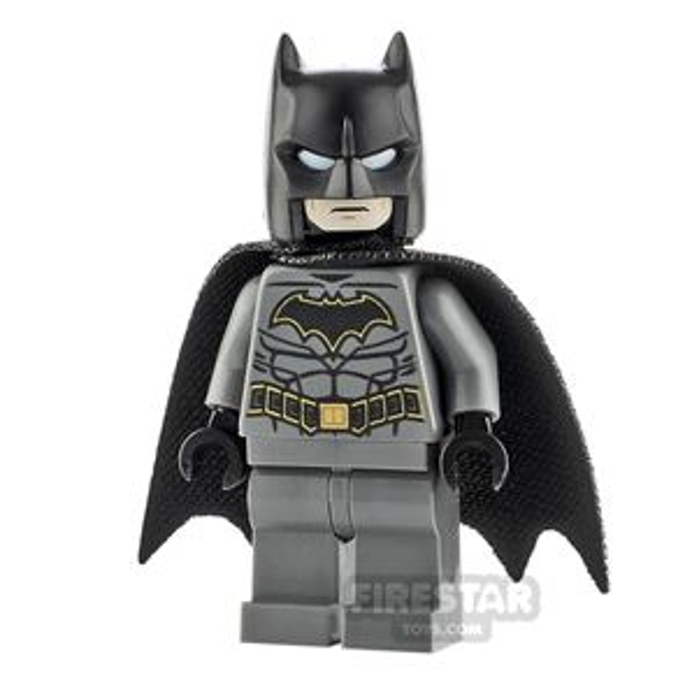 LEGO Super Heroes Minifigure Batman Gold Crest & Tear Drop Cape