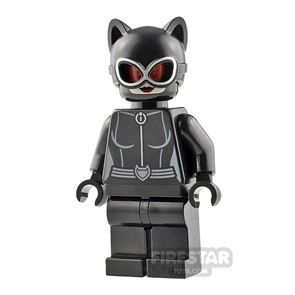 LEGO Super Heroes Minifigure Catwoman Red Goggles
