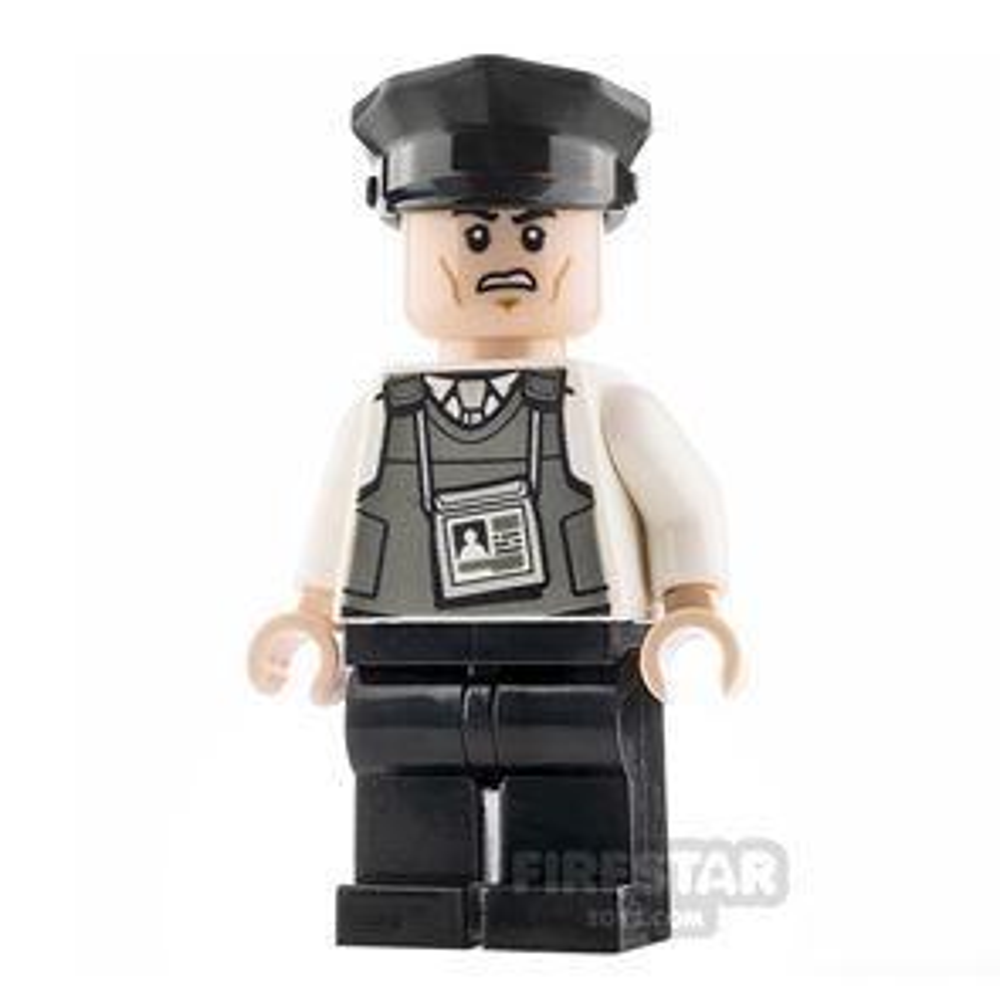 LEGO Super Heroes Minifigure Prison Guard