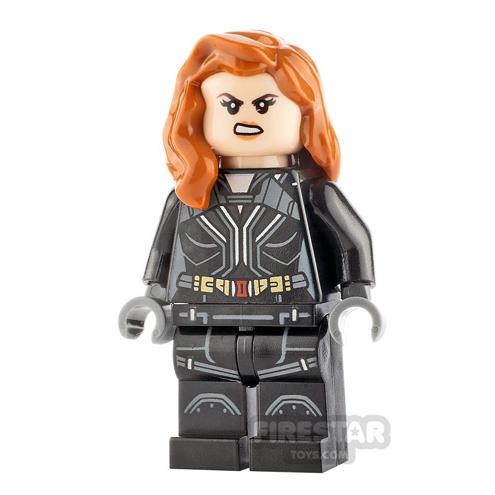 LEGO Super Heroes Minifigure Black Widow
