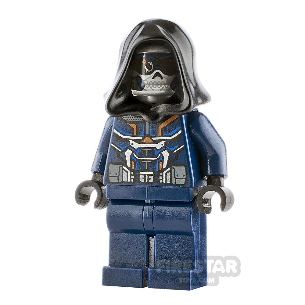 LEGO Super Heroes Minifigure Taskmaster Black Hood