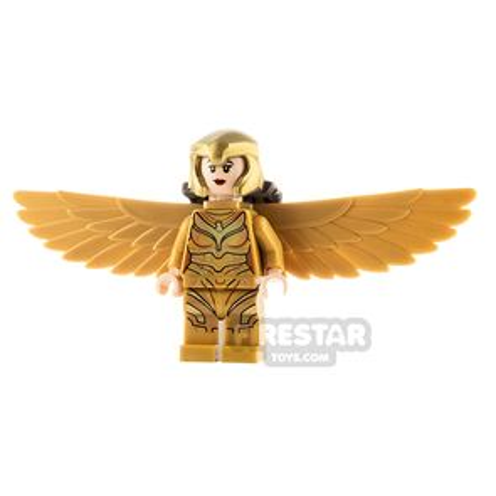 LEGO Super Heroes Minifigure Wonder Woman Gold Wings