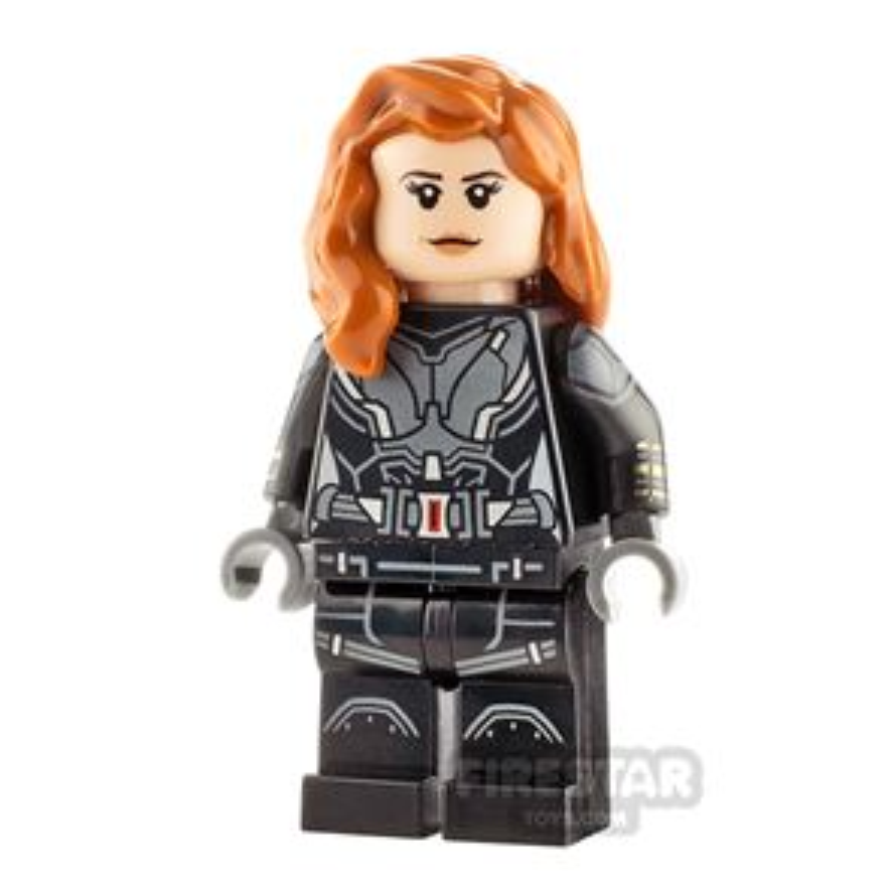 LEGO Super Heroes Minifigure Black Widow Printed Arms