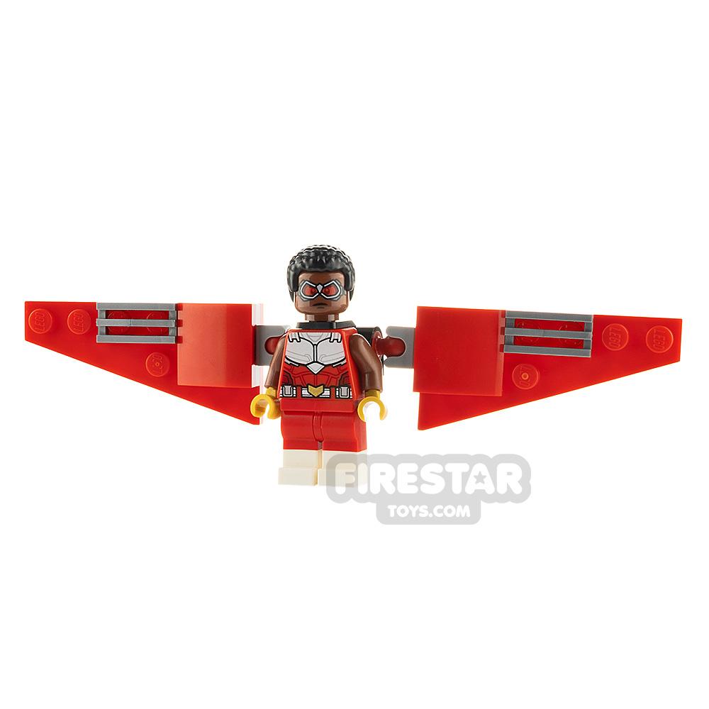 LEGO Super Heroes Minifigure Falcon Brick Built Wings