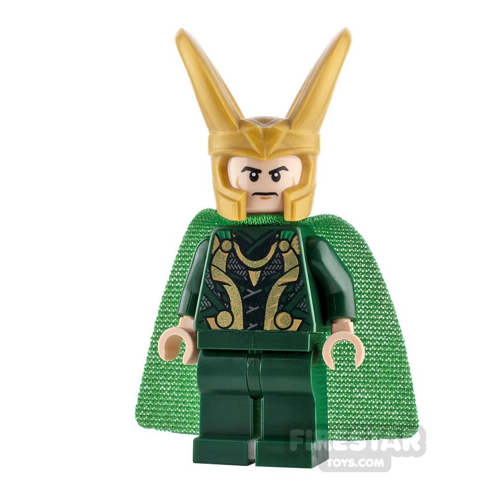 LEGO Super Heroes Minifigure Loki Spongy Cape