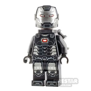 LEGO Super Heroes Minifigure War Machine Black and Silver Armour